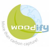 woodify logo_with claim_grey